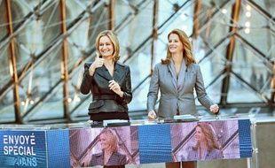 Guilaine Chenu et Françoise Joly présentent «Envoyé spécial» depuis 2001.