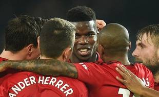Depuis le départ de Mourinho de Man U, Pogba est déchaîné.