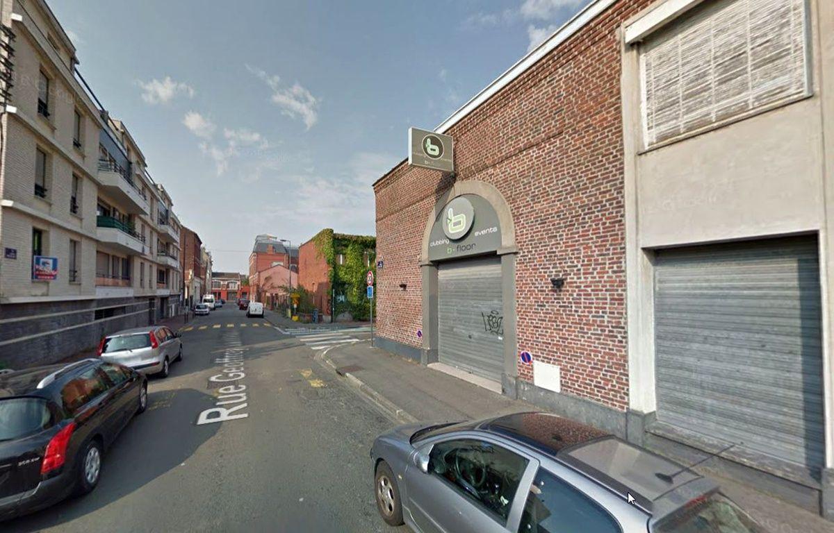 La discothèque le B-floor à Lille. – Google Maps