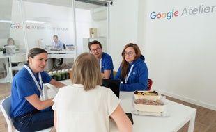 Un atelier Google, à Rennes.