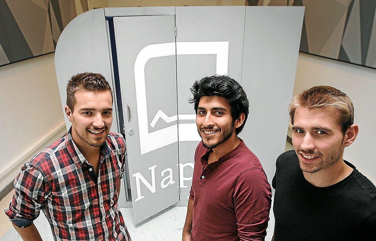 Arnaud, Diego et Guillaume ont conçu leur première bulle en 2012. – C. Villemain / 20 minutes