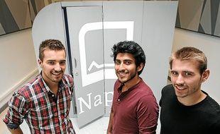 Arnaud, Diego et Guillaume ont conçu leur première bulle en 2012.