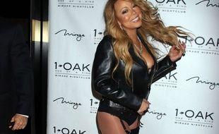 Mariah Carey arrive au 1 Oak, une discothèque de Las Vegas, le 25 juin 2016.