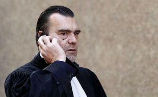 Frank Berton, l'avocat de Florance Cassez, en décembre 2011