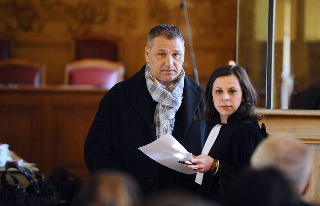 Bernard Barresi lors de son procès, à Nancy.