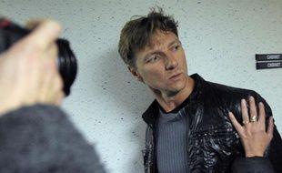 L'ancien footballeur de Lens, Tony Vairelles, soupçonné d'homicide involontaire, le 25 octobre 2011, à Nancy.