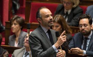 Edouard Philippe à l'Assemblée nationale, le 4 décembre 2018.