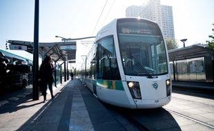 Le tramway T3 va être prolongé à l'ouest de Paris entre la porte d'Asnières et la porte Dauphine. (archives)