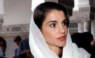 La reine Rania de Jordanie.