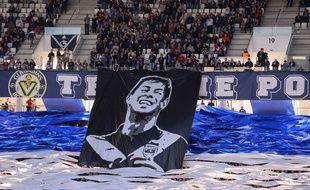 Les supporters de Bordeaux avaient dévoilé la saison dernière une banderole en hommage à l'ancien Girondin.