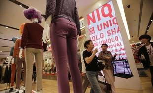 Un magasin Uniqlo à Shanghai.