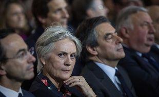 Penelope la femme de François Fillon. Crédit:Laurence Geai/SIPA.