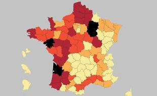 La Gironde se distingue pour sa consommation importante de pesticides.