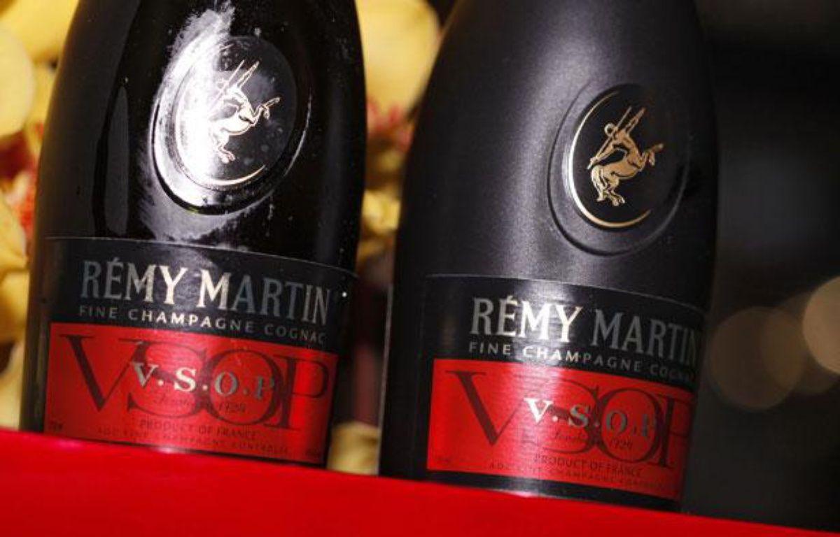 Deux bouteilles de Cognac Rémy Martin – no credit