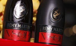 Deux bouteilles de Cognac Rémy Martin
