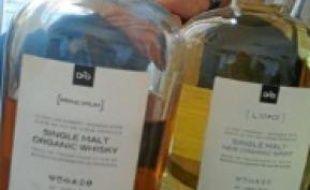 Le whisky est encore en maturation.