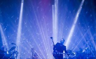 Thom Yorke et Radiohead au festival de Glastonbury (Royaume-Uni) le 23 juin 2017