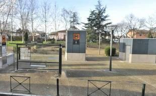 La station de métro Roseraie, à Toulouse.