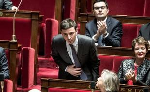 Aurélien Taché à l'Assemblée, le 20 février 2018.