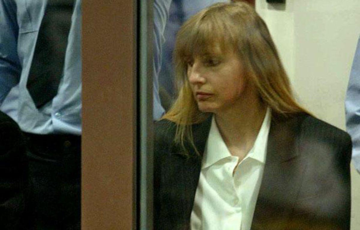 Michelle Martin, l'ex-femme de Marc Dutroux, lors de son procès au tribunal d'Arlon, en Belgique, le 17 juin 2004. – REUTERS/Pool HRM/AA