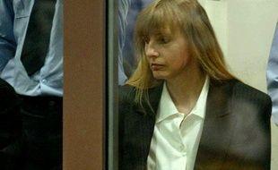 Michelle Martin, l'ex-femme de Marc Dutroux, lors de son procès au tribunal d'Arlon, en Belgique, le 17 juin 2004.