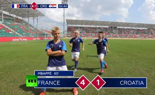 Buuuuut de l'équipe de France!