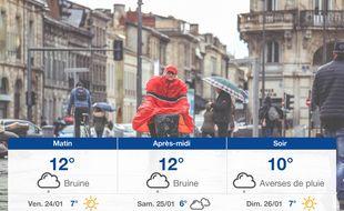 Météo Bordeaux: Prévisions du jeudi 23 janvier 2020