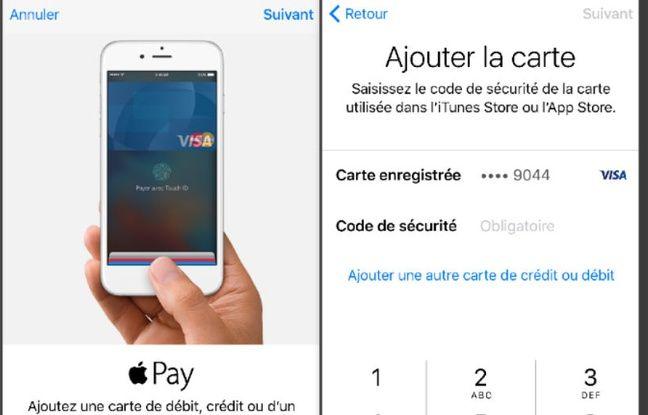 Enregistrer Une Carte De Paiement Dans Apple Pay Ne Prend Quune Minute