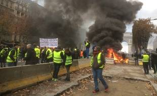 Manifestation des «gilets jaunes», le 24 novembre à Paris.