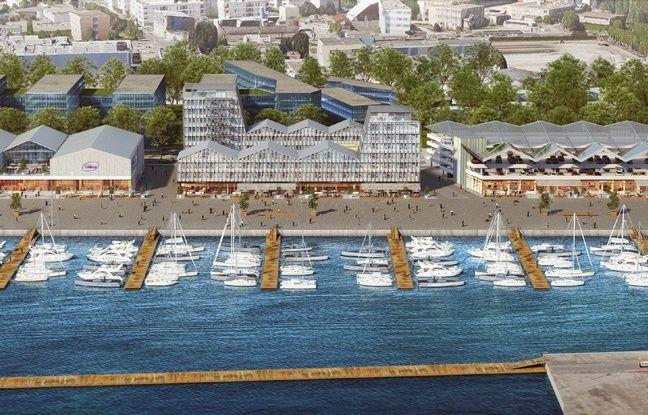 Le Quai des Caps, aux Bassins à Flot, accueillera quatre bâtiments, dont un complexe UGC de 13 salles