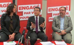 Sophie Bringuy (EELV), Christophe Clergeau (PS) et Alain Pagano (PCF appellent les électeurs de gauche à se mobiliser