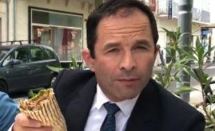Benoît Hamon s'adresse à Robert Ménard dans une vidéo sur Twitter