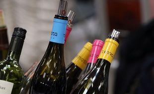 Des bouteilles de vin bio produites en Catalogne, sur le salon Millésime bio