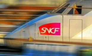 TGV en gare de Bordeaux