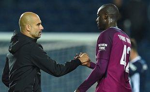 Entre Pep Guardiola et Yaya Touré, il y a comme qui dirait quelques tensions