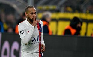 Neymar a tenu des propos éloquents après la défaite à Dortmund mardi soir.