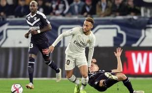 Neymar lors de Bordeaux-PSG en Ligue 1, le 2 décembre 2018.