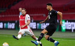 Le Losc a du mal face à l'Ajax