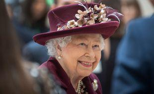 La reine d'Angleterre Elizabeth II