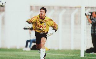 Bruno Martini (ici sous le maillot du MHSC en 1998) est décédé le 20 octobre 2020 à Montpellier.
