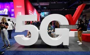Illustration du futur réseau 5G.