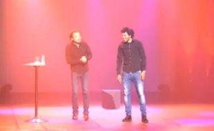Fabrice Eboué et Brandao