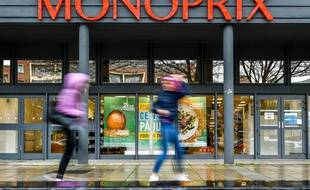 Un magasin de l'enseigne Monoprix