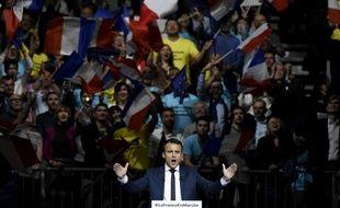 Emmanuel Macron à Lyon le 4 février 2017.