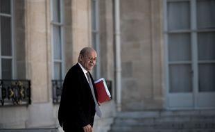 Jean-Yves LE DRIAN (Ministre des Affaires Etrangeres).