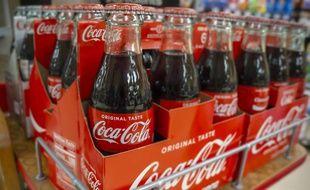 Bouteilles de Coca-Cola (illustration)