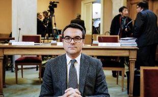 Thomas Thévenoud, ancien secrétaire d'Etat au Commerce extérieur et conseiller général Saône-et-Loire, à Mâcon le 18 décembre 2014