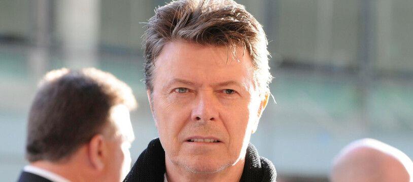 Le chanteur David Bowie