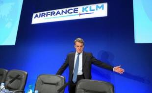 Le PDG d'Air France Alexandre de Juniac le 24 juillet 2015 à Paris