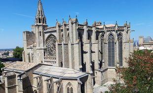 La basilique Saint-Nazaire-et-Saint-Celse, à Carcassonne.